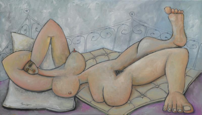 Erik Renssen, Dreaming nude, 2008