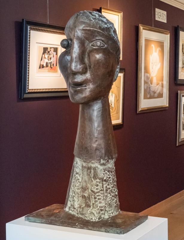 Erik Renssen, Head of a woman , 2011