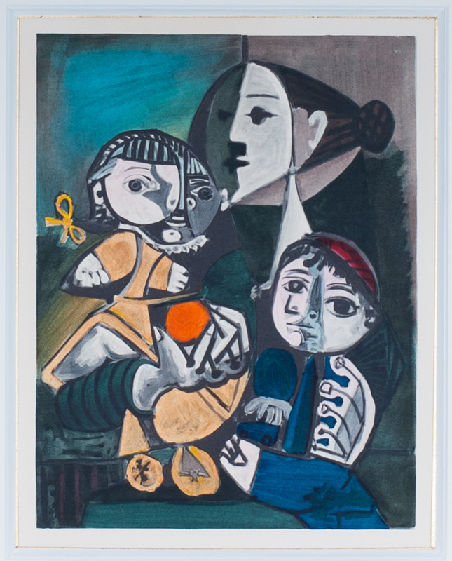 Pablo Picasso, Motherhood, 1951, 1955