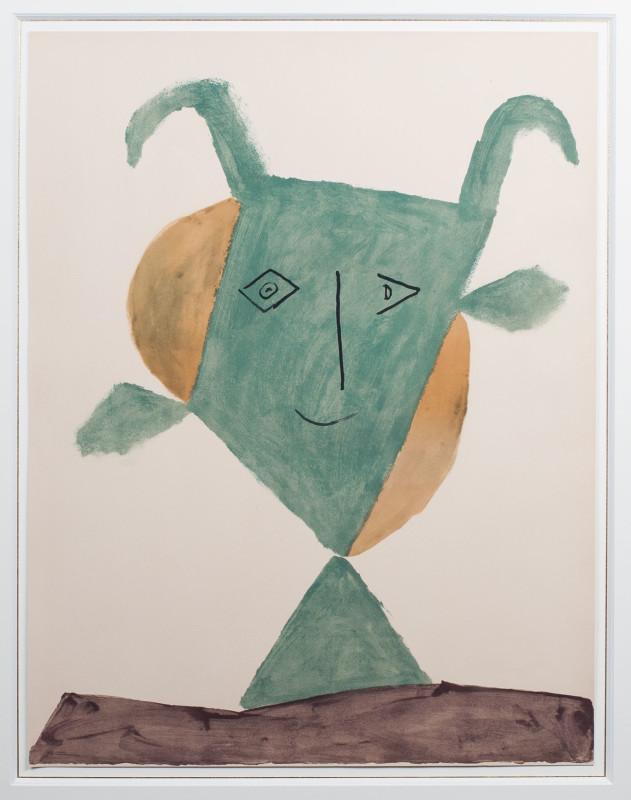 Pablo Picasso, Green faun, 1960
