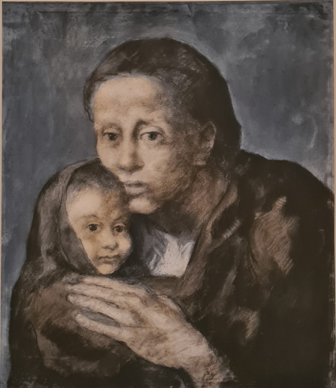 Pablo Picasso, Mother and child, 1903, 1963