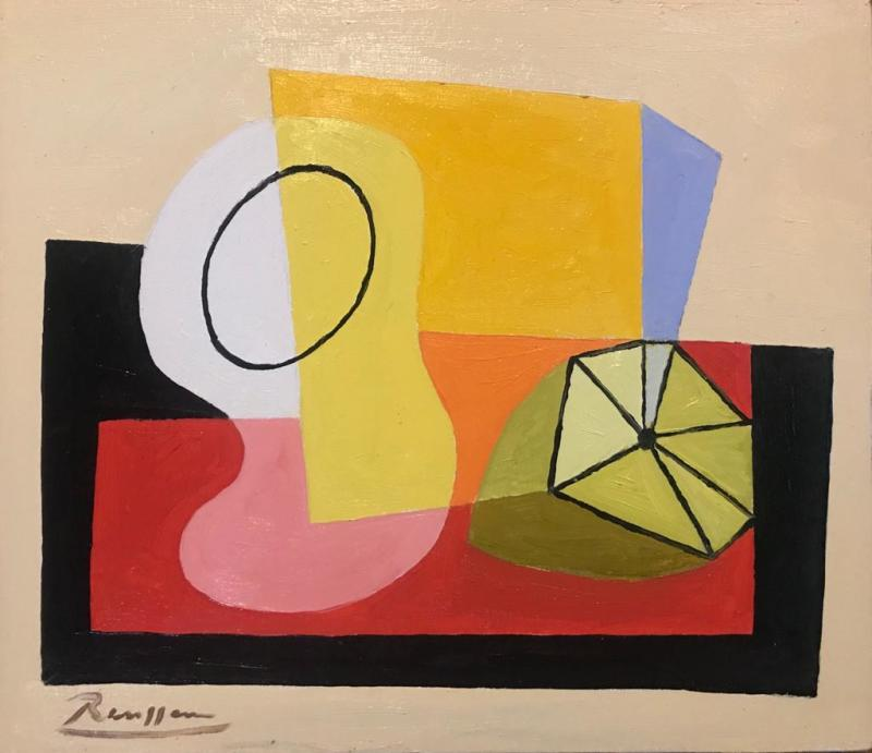 Erik Renssen, Glass and lemon, 2021
