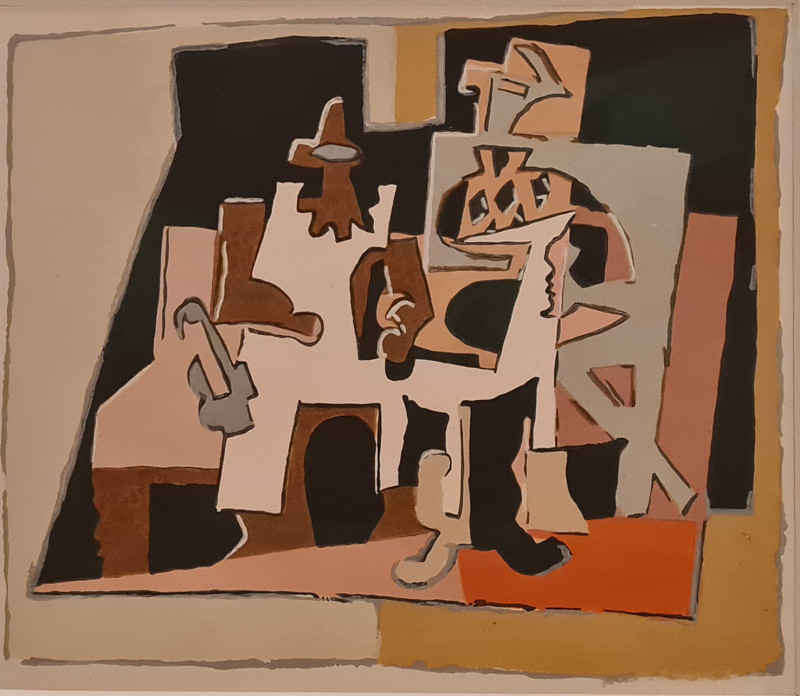 Pablo Picasso, Interior, 1920, 1933