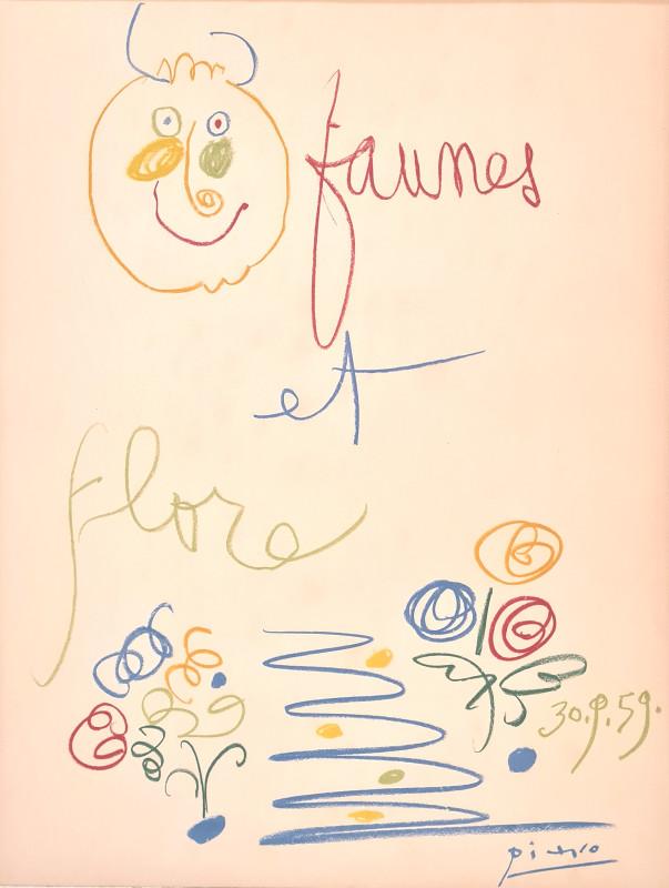 Pablo Picasso, Faunes et flore, 1959