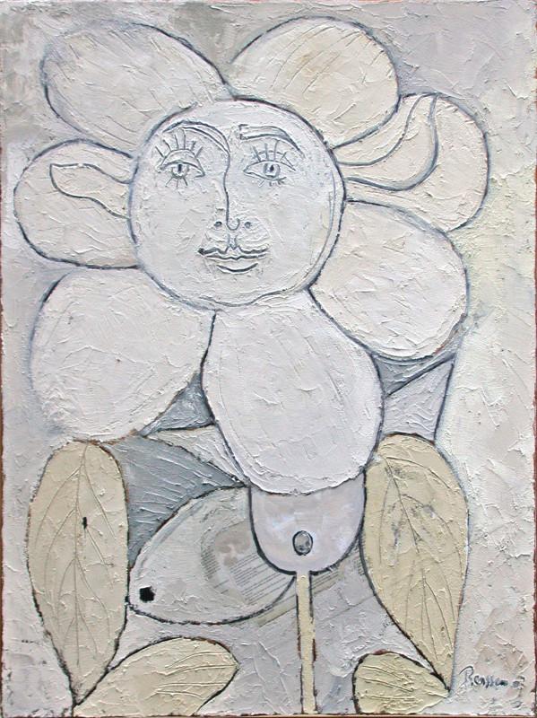 Erik Renssen, Femme fleur IV, 2007