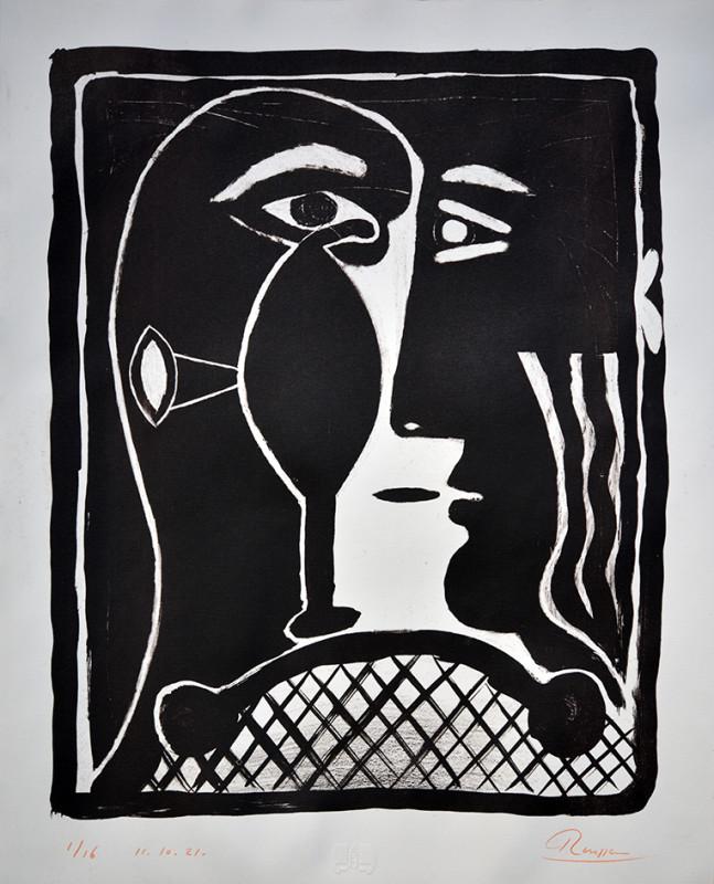 Erik Renssen, Size M | Mask II, 2021