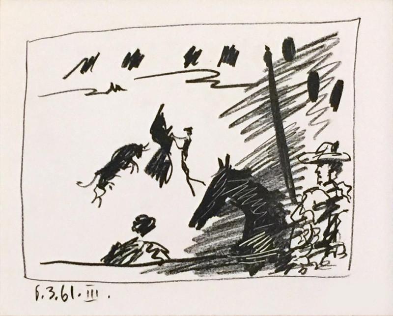 Pablo Picasso, Toros, The Picador III, 1961