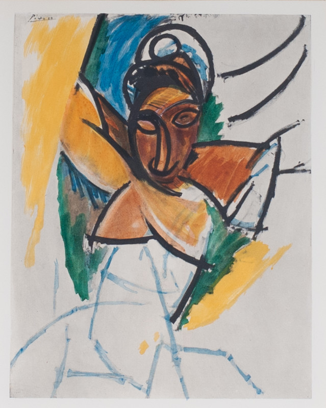 Pablo Picasso, Woman, 1906/1907, 1955