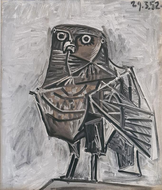 Pablo Picasso, Le hibou, 2020