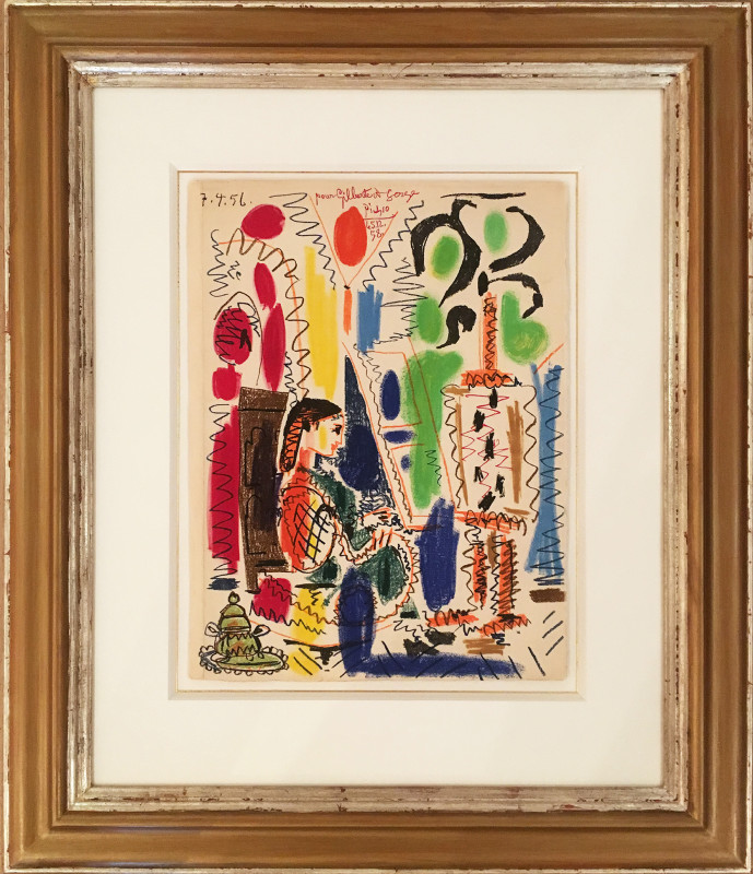 Pablo Picasso, The Cannes Studio, 1958