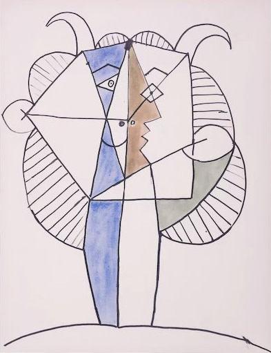 Pablo Picasso, Faun, 1960