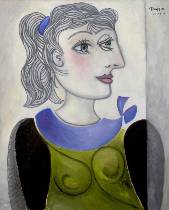 Erik Renssen, L / Woman with a ponytail II, 2011