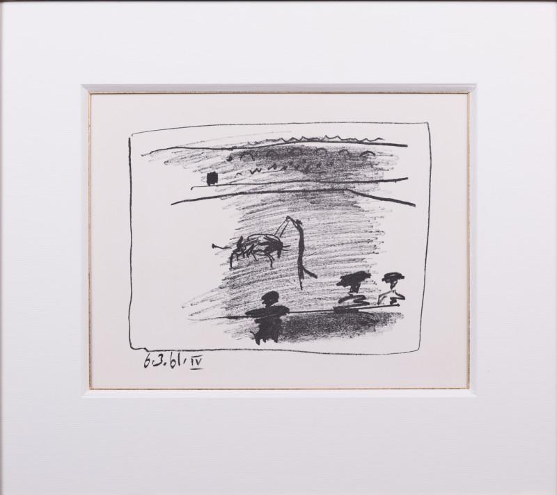 Pablo Picasso, The picador IV, 1961