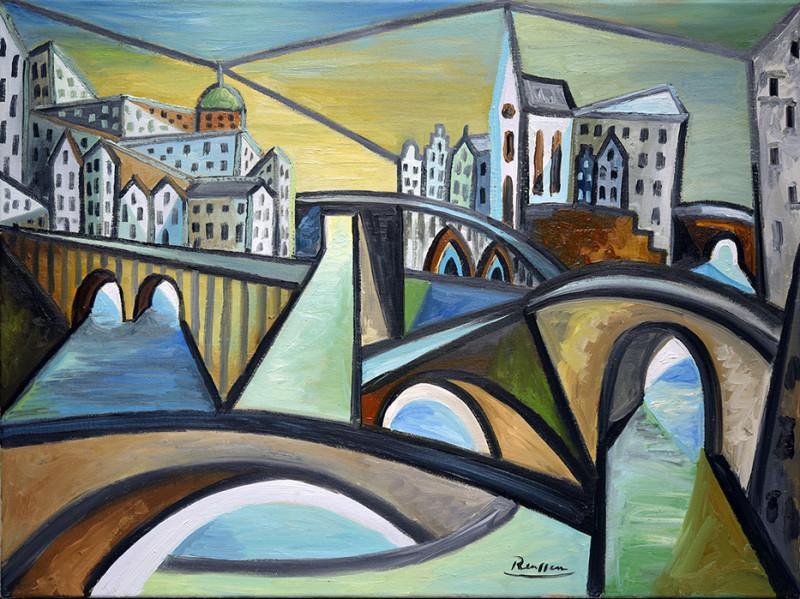 Erik Renssen, Size M | The bridges of Amsterdam, 2021
