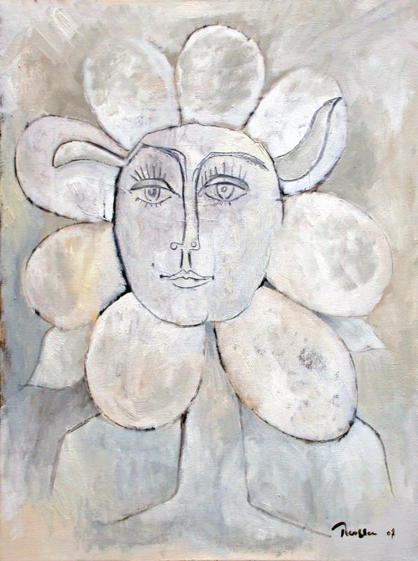 Erik Renssen, Femme fleur III, 2007