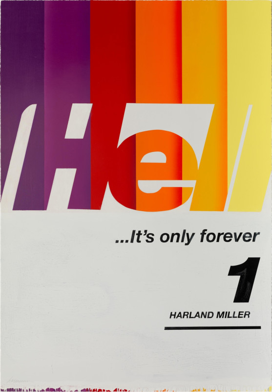 Harland Miller, Hell... It's Only Forever 1, 2020
