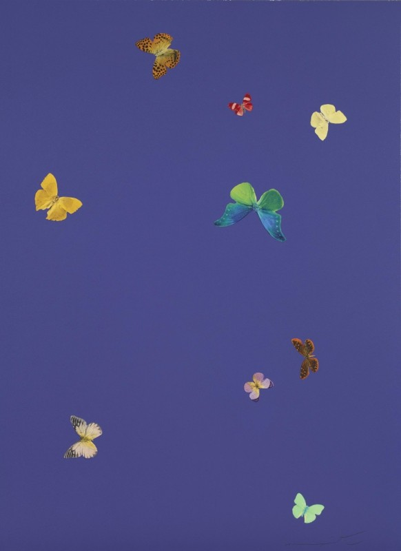 Damien Hirst, The Wonder of You - Your Heart