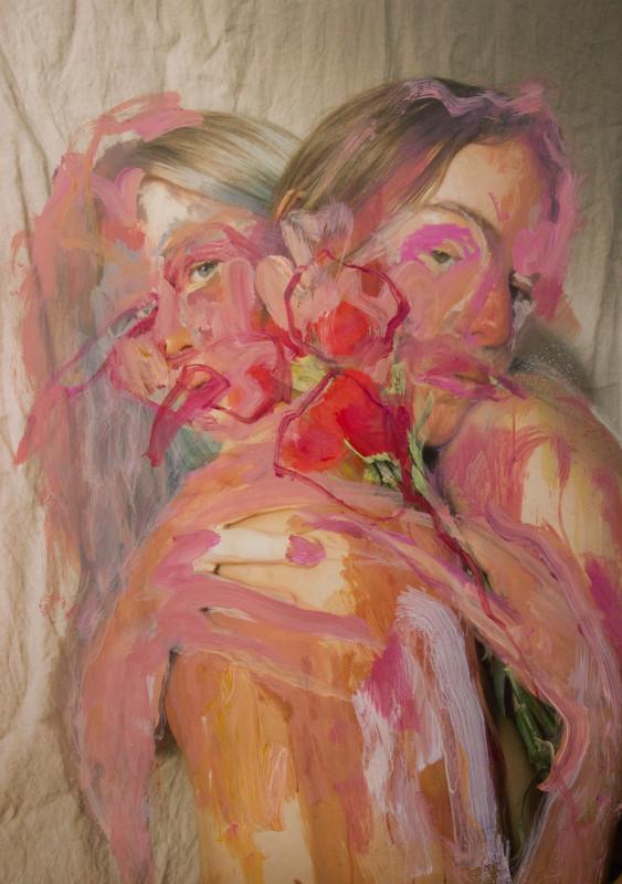 Jess Cochrane, Red Carnation, 2021