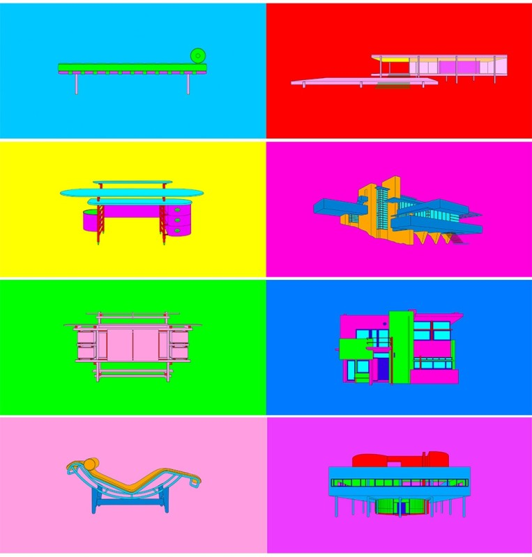 Michael Craig-Martin, Design and Architecture