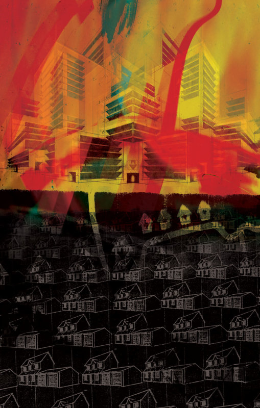 Stanley Donwood, High Rise