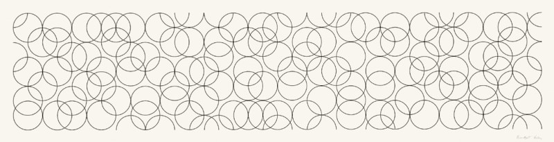 Bridget Riley, Composition With Circles 4, 2004