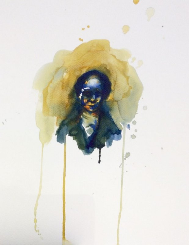 Florian Eymann, Watercolour No 270 317 3
