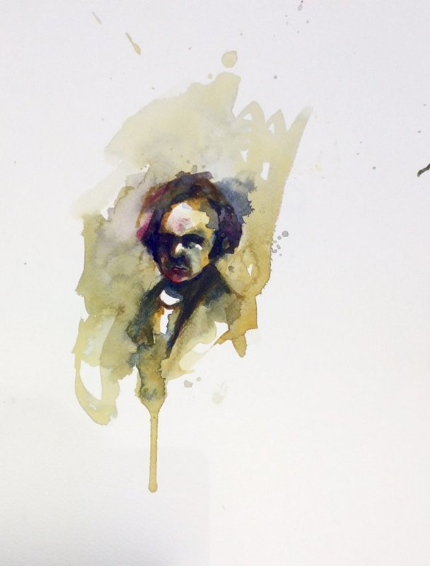 Florian Eymann, Watercolour No 180 117 2