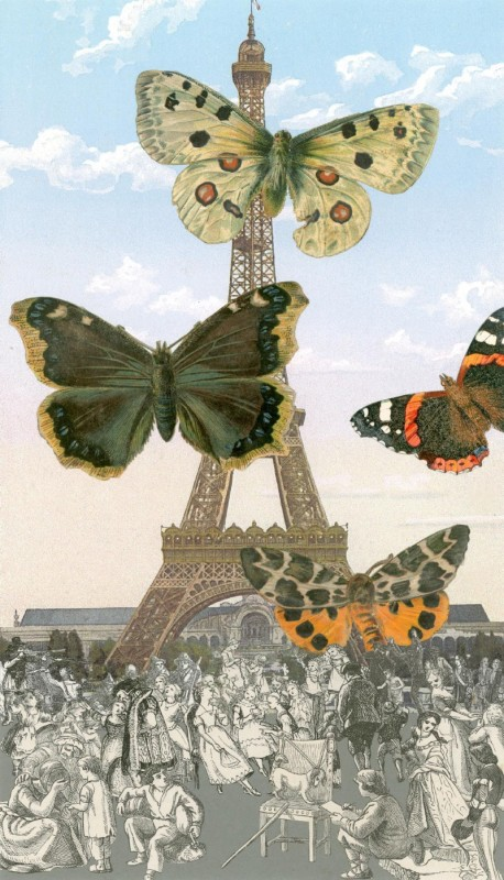 Peter Blake, Paris - Butterflies I, 2011