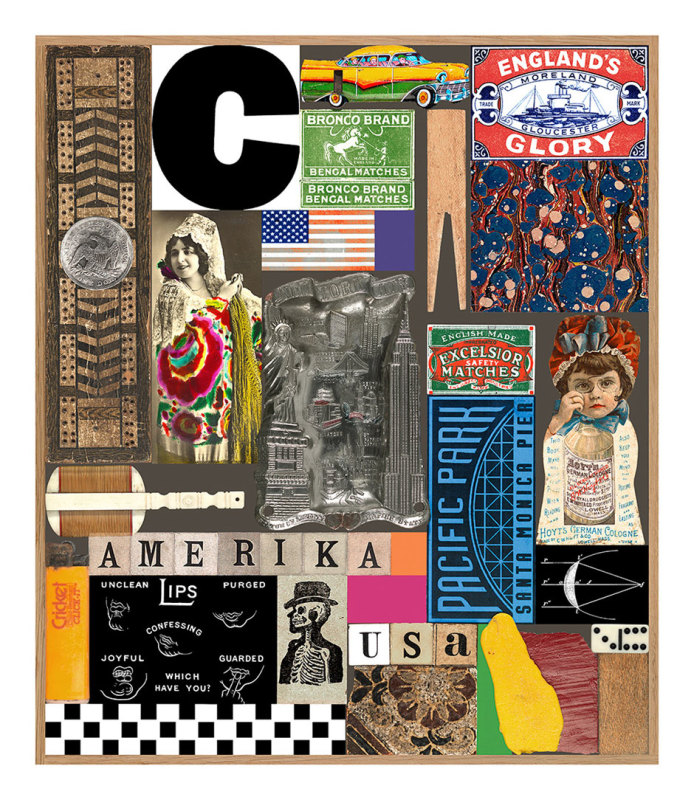 Peter Blake, USA Series - Pacific Park