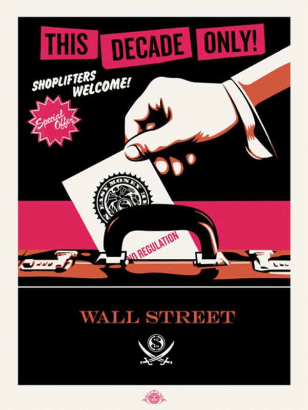 Obey (Shepard Fairey), Shoplifters Welcome - Pink