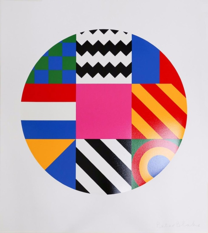 Peter Blake, Dazzle Disc 2016