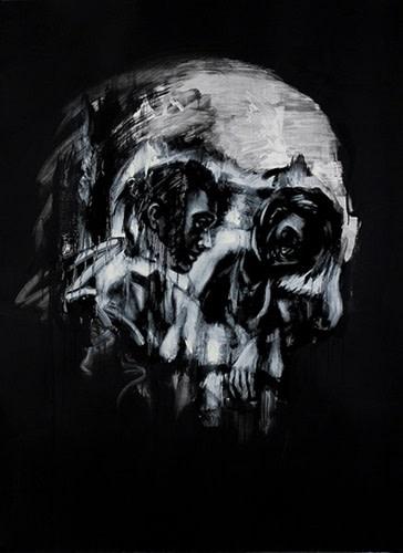 Tom French, Vanitas (hand finished), 2014