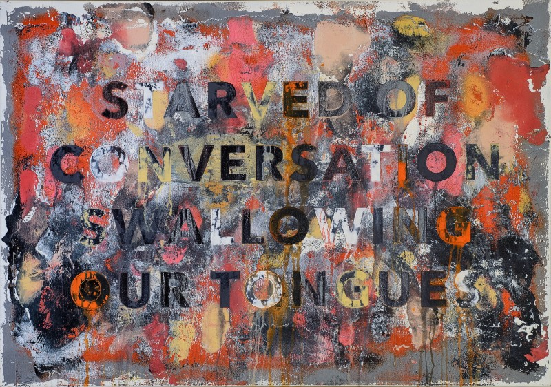 David Walker, Starved Of Conversation Swallowing Our Tongues