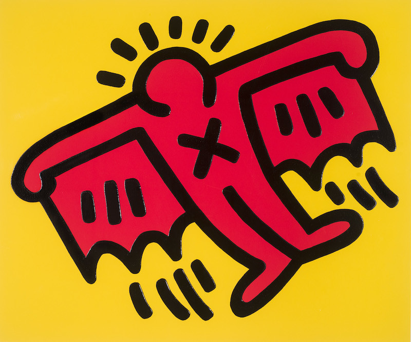 Keith Haring, Icons 4, 1990
