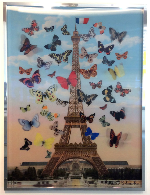 Peter Blake, Eiffel Tower 2015