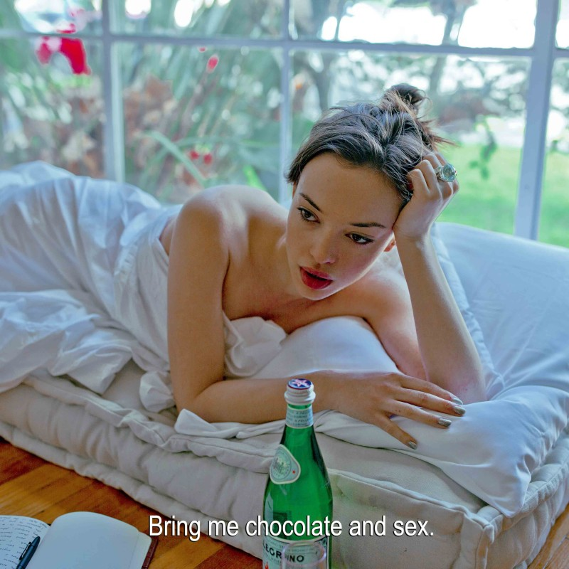 Sarah Bahbah, For Arabella – Chocolate and Sex