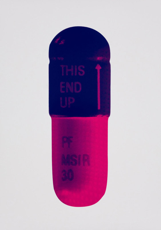 Damien Hirst, The Cure - Ice Pink/Mauve/Raspberry