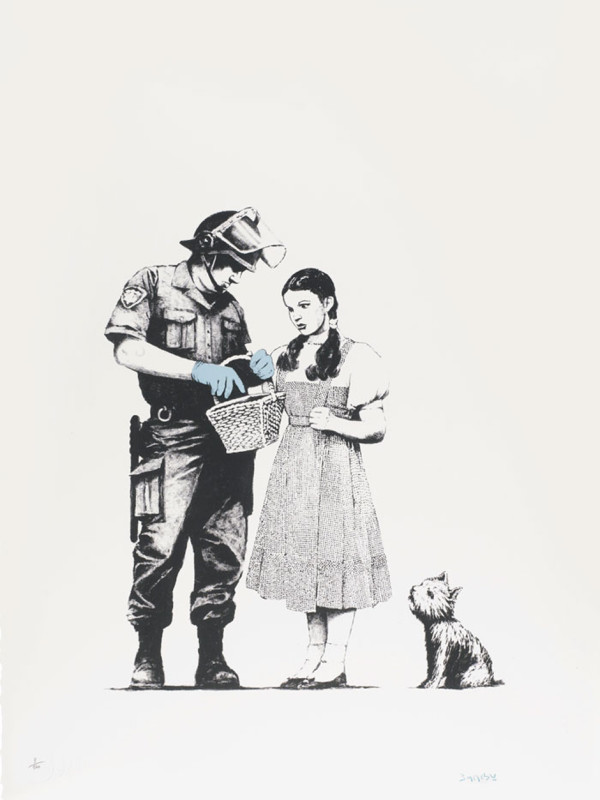 Banksy, Stop and Search