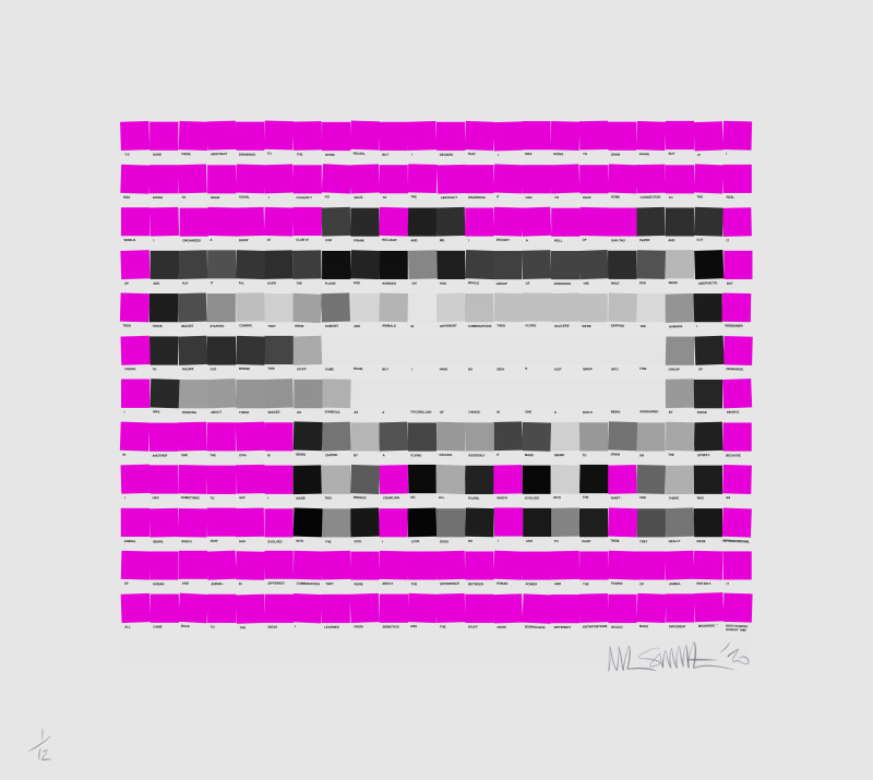 Nick Smith, Haring Dog - Pink, 2020