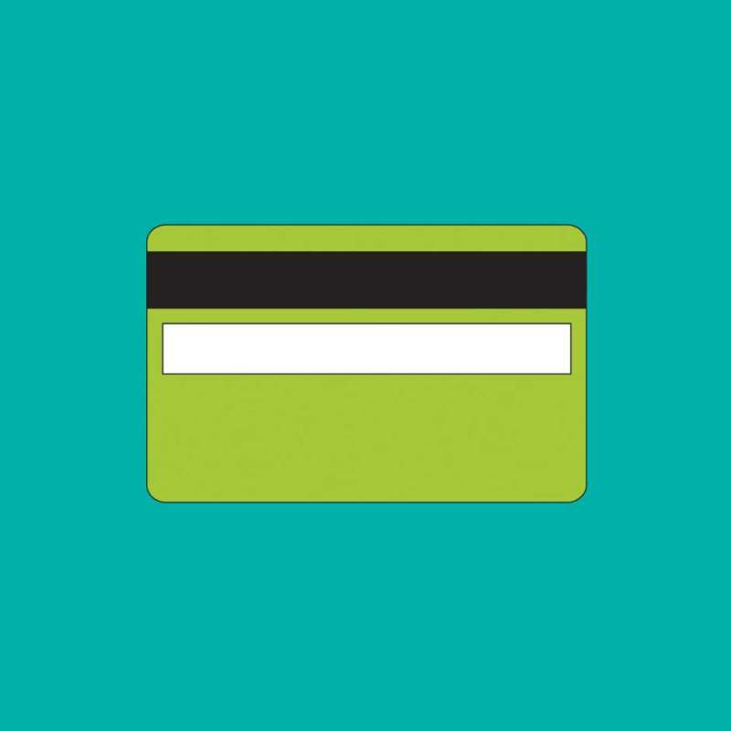 Michael Craig-Martin, Credit Card