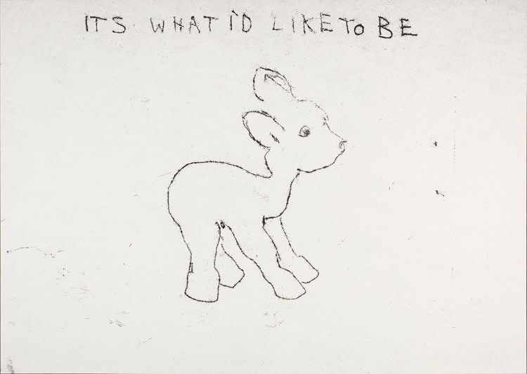 Tracey Emin, It's What I'd Like To Be, 1998