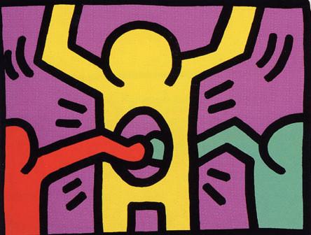 Keith Haring, Pop Shop 1, 1987