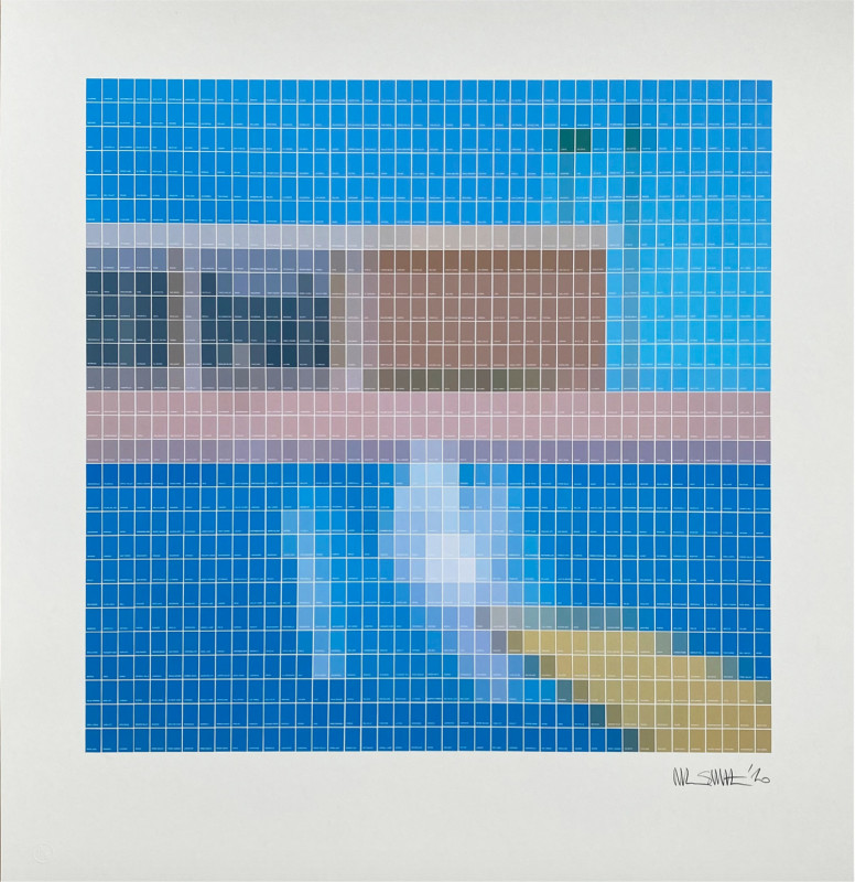 Nick Smith, Bigger Splash - 0%, 2020