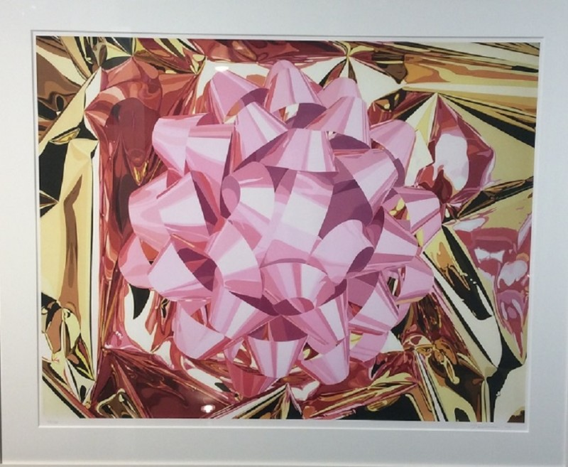 Jeff Koons, Pink Bow (Celebration series) 2013