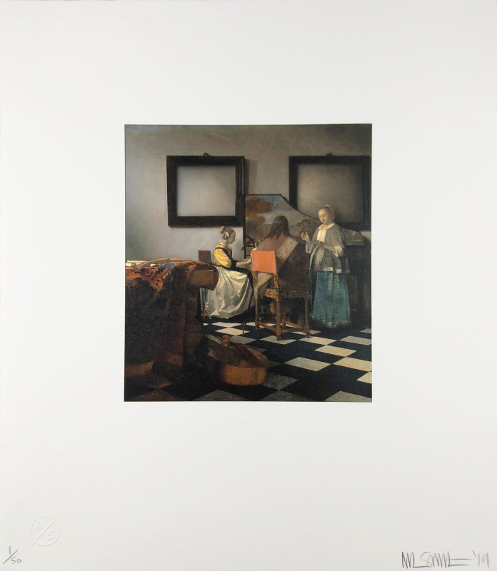Nick Smith, Vermeer - The Concert, 2019