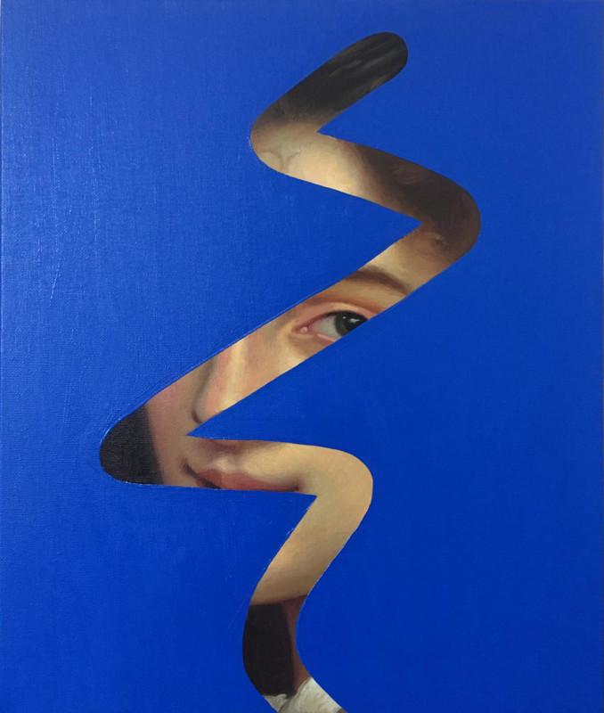 Lino Lago, Fake Abstract (Bouguereau), 2019