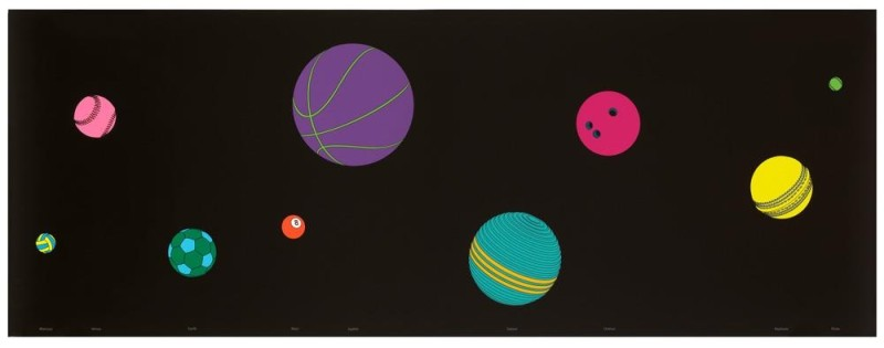 Michael Craig-Martin, The Planets