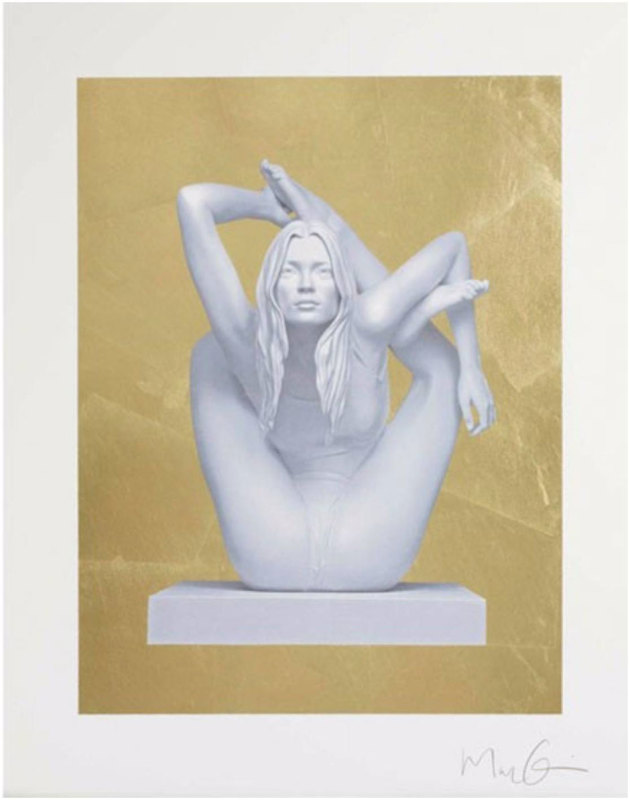Marc Quinn, Sphinx - Gold Leaf
