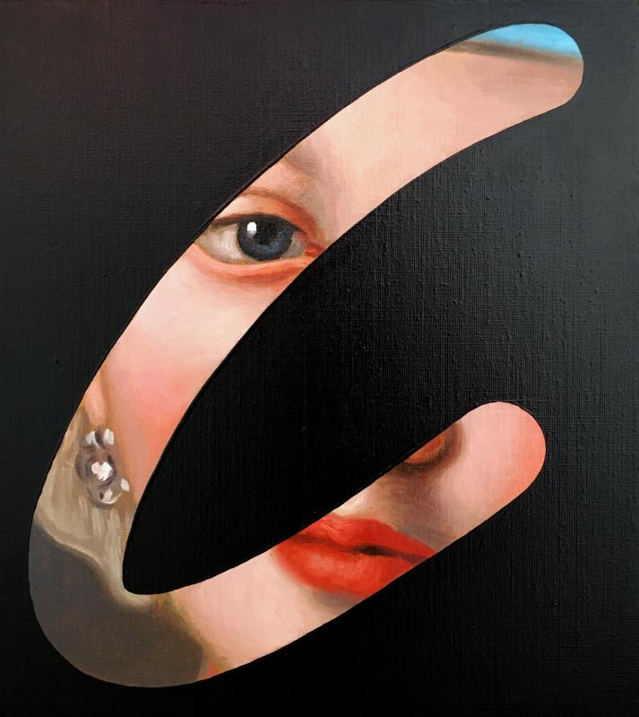 Lino Lago, Fake Abstract (Pietro A Rotari), 2020