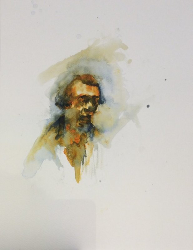 Florian Eymann, Watercolour No 150 117 3